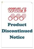 2019 Product Discontinued Notice
